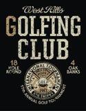Competiam internacional do golfe Fotografia de Stock
