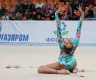 Competiam internacional na ginástica rítmica Imagem de Stock