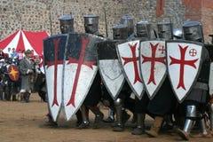 Competiam Knightly Fotografia de Stock Royalty Free