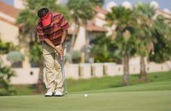 Competiam real do golfe do troféu, Ásia contra Europa 2010 Imagem de Stock Royalty Free
