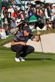 Competiam real do golfe do troféu, Ásia contra Europa 2010 Fotografia de Stock Royalty Free