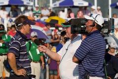Competiam real do golfe do troféu, Ásia contra Europa 2010 Imagens de Stock