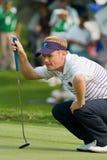 Competiam real do golfe do troféu, Ásia contra Europa 2010 Imagem de Stock