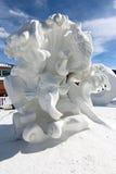 Competición 2012 de la escultura de la nieve de Breckenridge Imagen de archivo libre de regalías