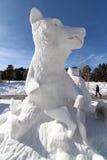 Competición 2012 de la escultura de la nieve de Breckenridge Fotografía de archivo libre de regalías