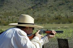 Competición 4 del Shooting Fotos de archivo
