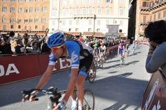 Competición de ciclo el 3 de marzo de 2012 Imágenes de archivo libres de regalías