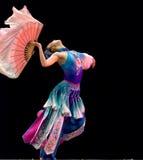 Competición de la danza popular Fotografía de archivo libre de regalías