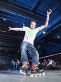 Competición de Rollerblading Foto de archivo