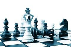 Competición del ajedrez foto de archivo libre de regalías