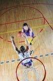 Competición del baloncesto;) Fotografía de archivo libre de regalías