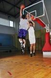 Competición del baloncesto;) Imágenes de archivo libres de regalías