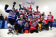 Competición del hielo Fotografía de archivo