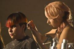 Competición del pelo de Hairapalooza Imagen de archivo libre de regalías