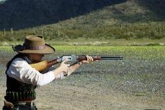 Competición del Shooting Fotos de archivo libres de regalías