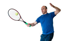 Competición del tenis Action fotos de archivo libres de regalías
