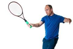 Competición del tenis Action imágenes de archivo libres de regalías