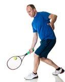 Competición del tenis Action foto de archivo