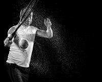 Competición del tenis Action Fotos de archivo