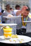Competición internacional para cocinar al aire libre Imagen de archivo
