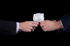Competición de las finanzas Fotografía de archivo libre de regalías