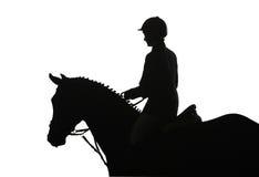 Competición del montar a caballo Fotografía de archivo libre de regalías