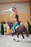 Competición internacional de la bóveda, Eslovaquia Fotos de archivo