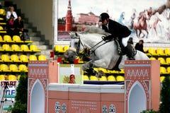 Competiciones del caballo Imágenes de archivo libres de regalías
