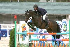 Competiciones del caballo Fotografía de archivo libre de regalías