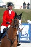 Competiciones del caballo Foto de archivo