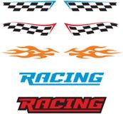 Competindo ícones Imagem de Stock Royalty Free