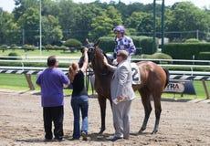 Competindo a ação da rainha da raça americana Trac Imagem de Stock