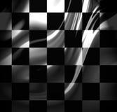 Competindo a bandeira Fotografia de Stock Royalty Free