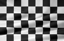 Competindo a bandeira Fotografia de Stock