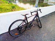Competindo a bicicleta Imagem de Stock Royalty Free