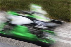 Competindo motocicletas Fotografia de Stock