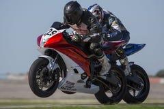 Competindo Motorcylces Foto de Stock Royalty Free