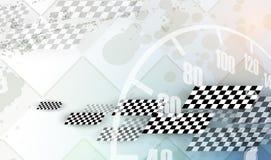 Competindo o fundo quadrado, abstração da ilustração do vetor no rac ilustração stock