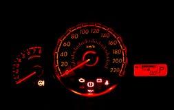 Competindo o medidor de velocidade 3 do carro do estilo Imagem de Stock