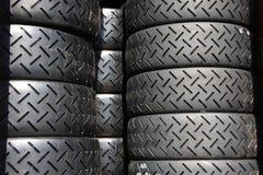 Competindo pneus Imagens de Stock