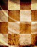 Competindo a textura da bandeira Fotografia de Stock