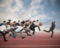 Competição do negócio Fotos de Stock Royalty Free