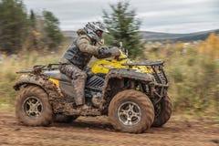 Competir con ATV Fotos de archivo