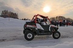 Competir con ATV Foto de archivo