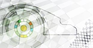 Competir con el fondo cuadrado, abstracción del ejemplo del vector Imagen de archivo libre de regalías