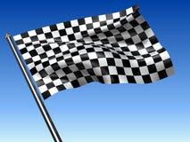 Competir con el indicador checkered libre illustration