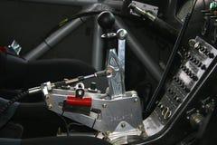 Competir con el palillo de engranaje en Hummer Fotos de archivo