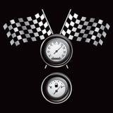 Competir con indicadores y los calibradores Foto de archivo