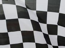 competir con la bandera Foto de archivo