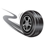 Competir con la rueda Imagen de archivo